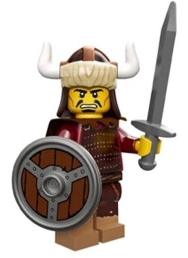 Lego Lego Minifigür - Seri 12 - 71007 - Hun Warrior Renkli